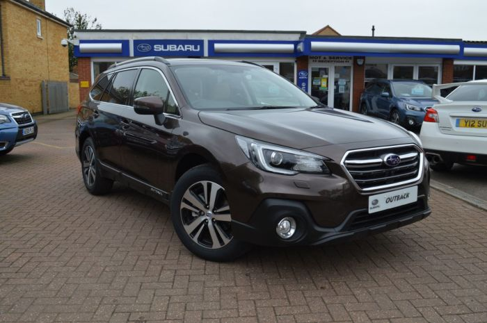 Subaru Outback 2.5 i SE Premium Lineartronic AWD (s/s) 5dr Estate Petrol Oak Brown Metallic