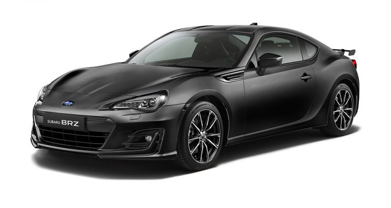 Subaru Brz - Available In Crystal Black Silica