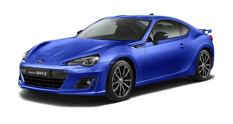 Subaru Brz - Available In WR Blue Mica