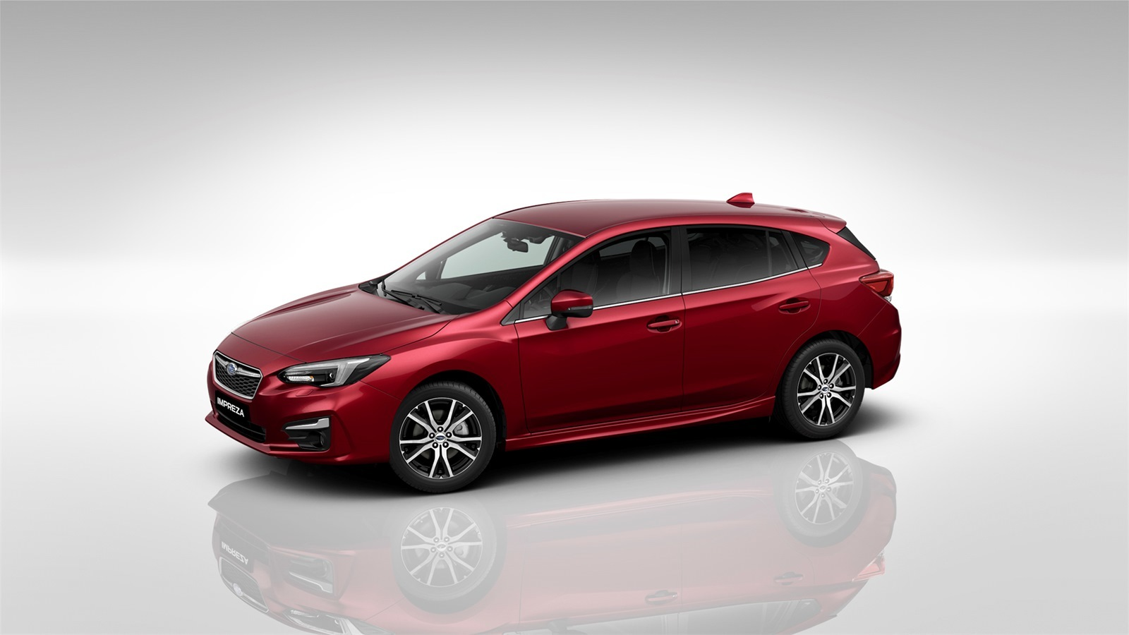 subaru impreza - Available in Venetian Red Pearl