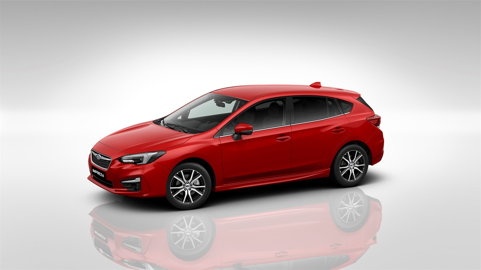 subaru impreza - Available in Pure Red