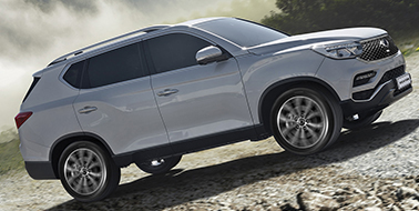 New SsangYong Rexton from £29,995